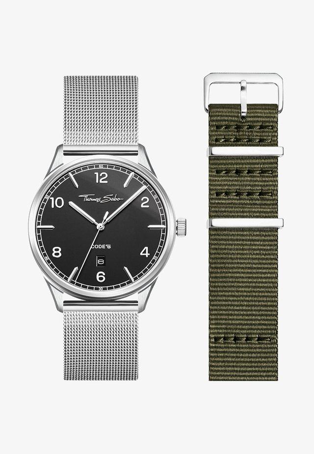 Watch - silber/grün