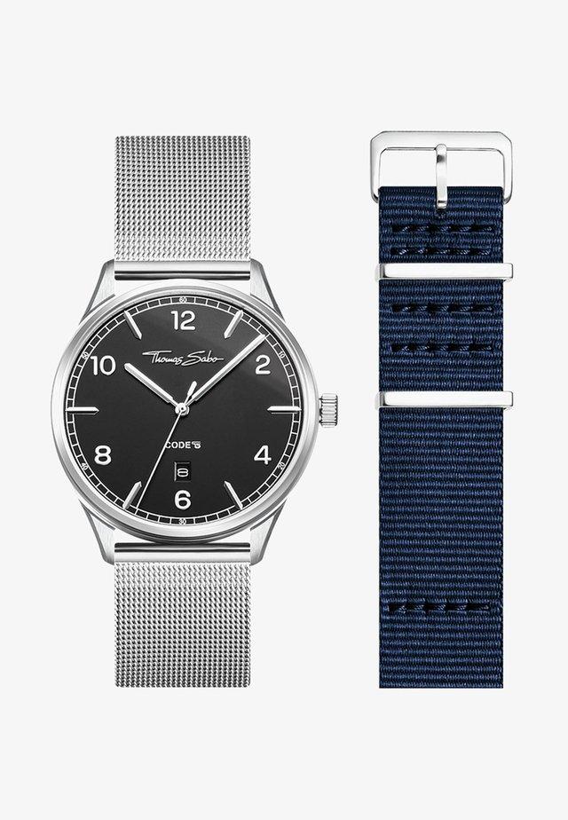 Watch - Silber/blau