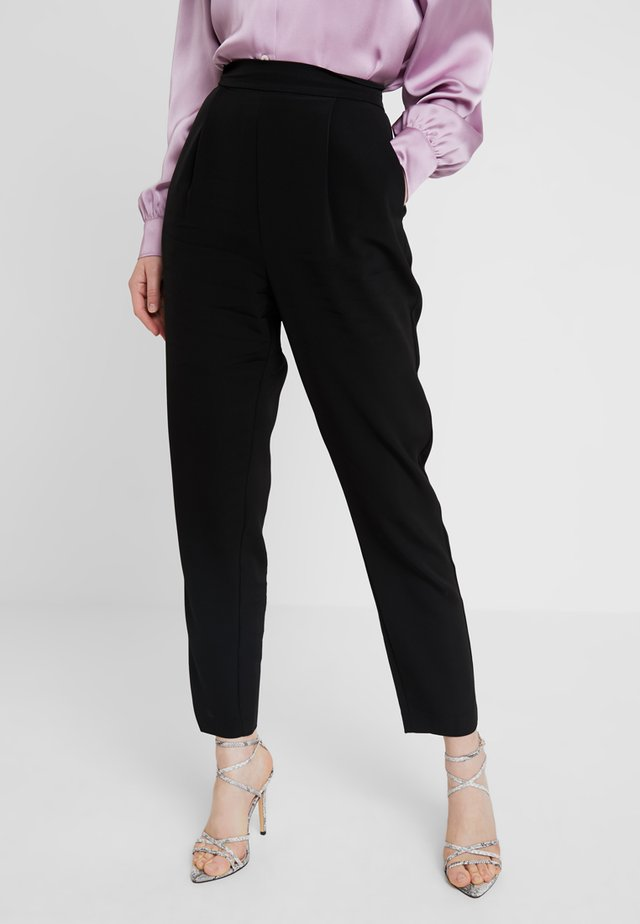 SEA PANT - Trousers - black