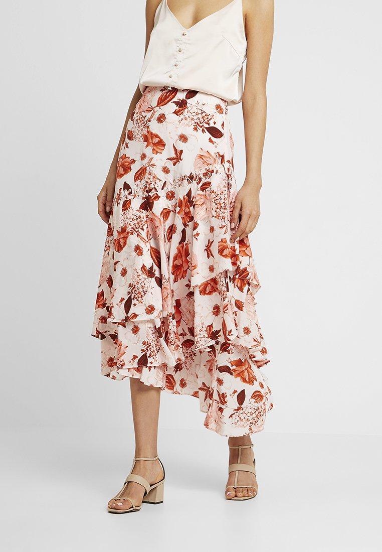 Thurley - VERSET SKIRT - Maxi sukně - eden red