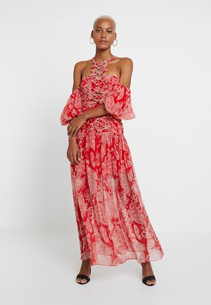 PAGEANT MAXI DRESS - Occasion wear - peacock red