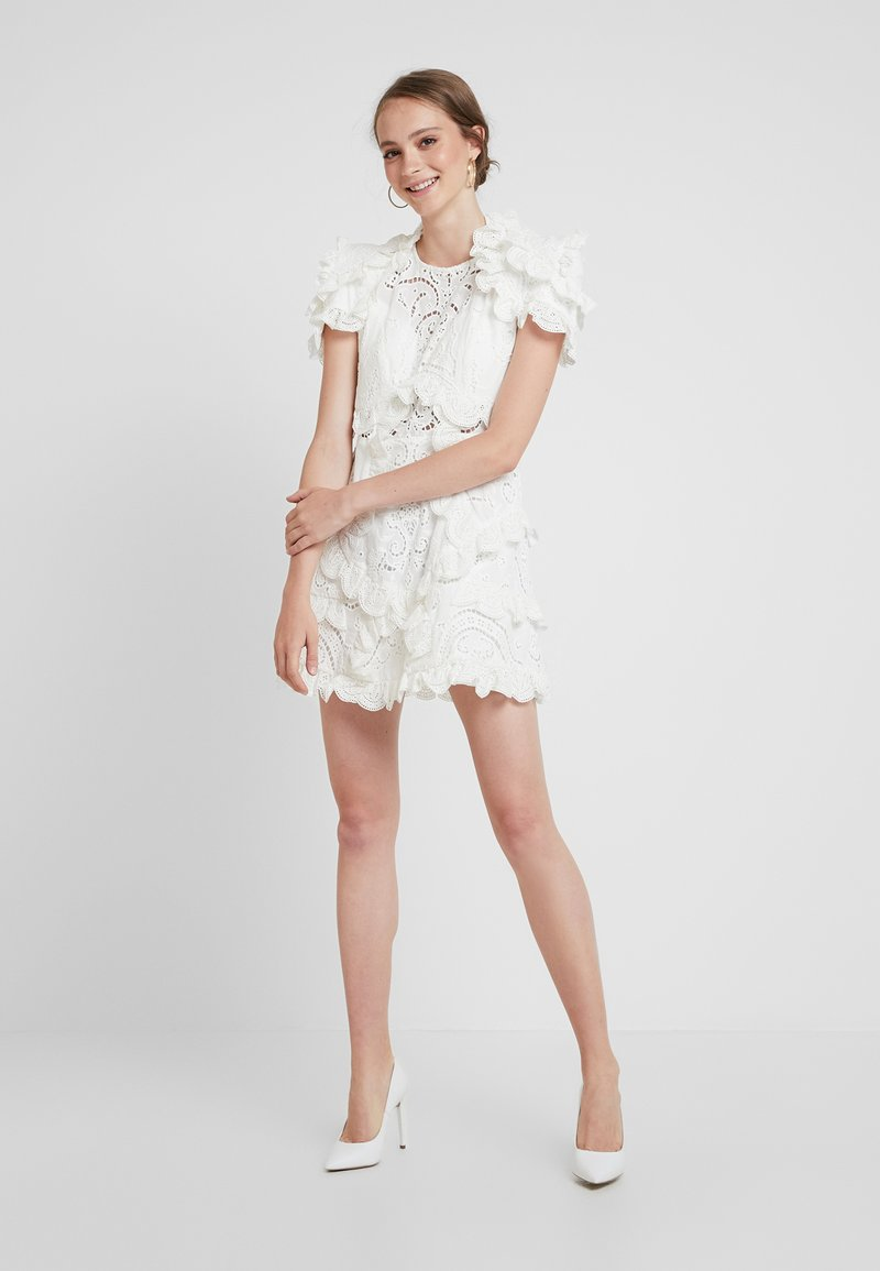 Thurley - HONEY SUCKLE MINI DRESS - Cocktail dress / Party dress - ivory