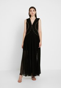 Thurley - FAITHFUL MAXI DRESS - Iltapuku - black - 0