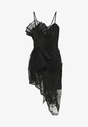 SPIROGRAPH MIDI DRESS - Cocktailjurk - black