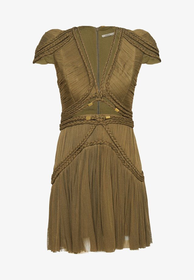 ATHENIAN DRESS - Korte jurk - military olive