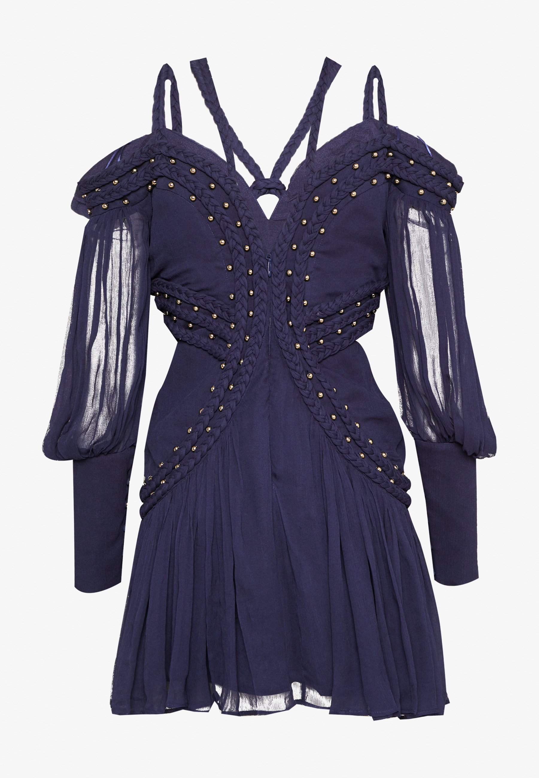 Thurley Moon River Mini Dress - Vardagsklänning Black Iris 2yhmARK