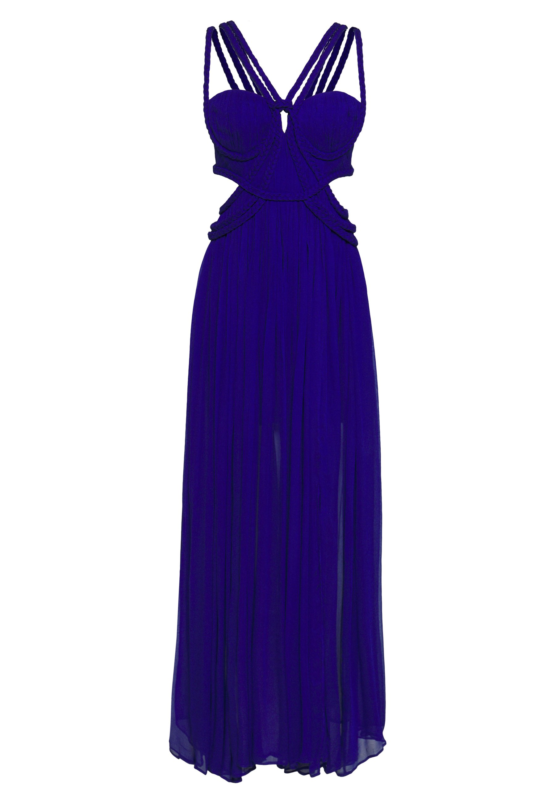 Thurley Star Sign Gown - Occasion Wear Royal Blue UK