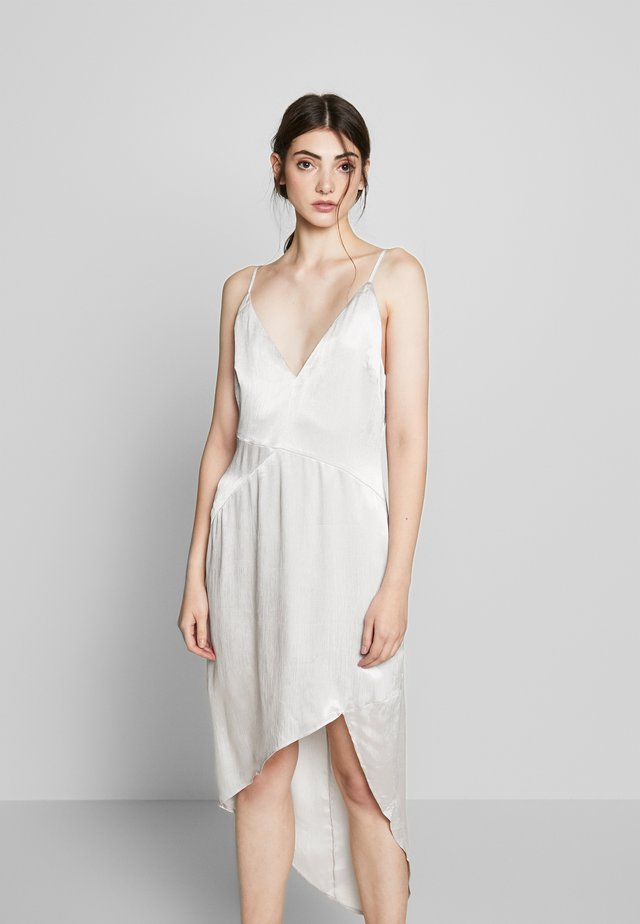 ELISSA MIDI DRESS - Day dress - silver quartz
