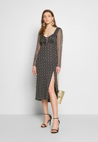 The East Order - LAURIE MIDI DRESS - Day dress - flora noir - 1