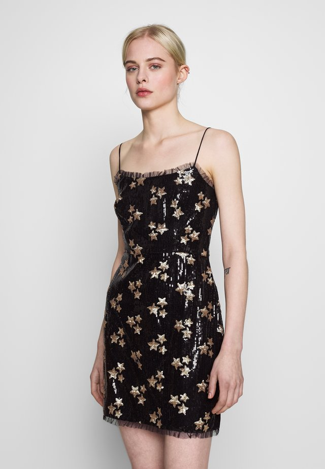 ZAFRAN MINI DRESS - Vestido informal - night stars