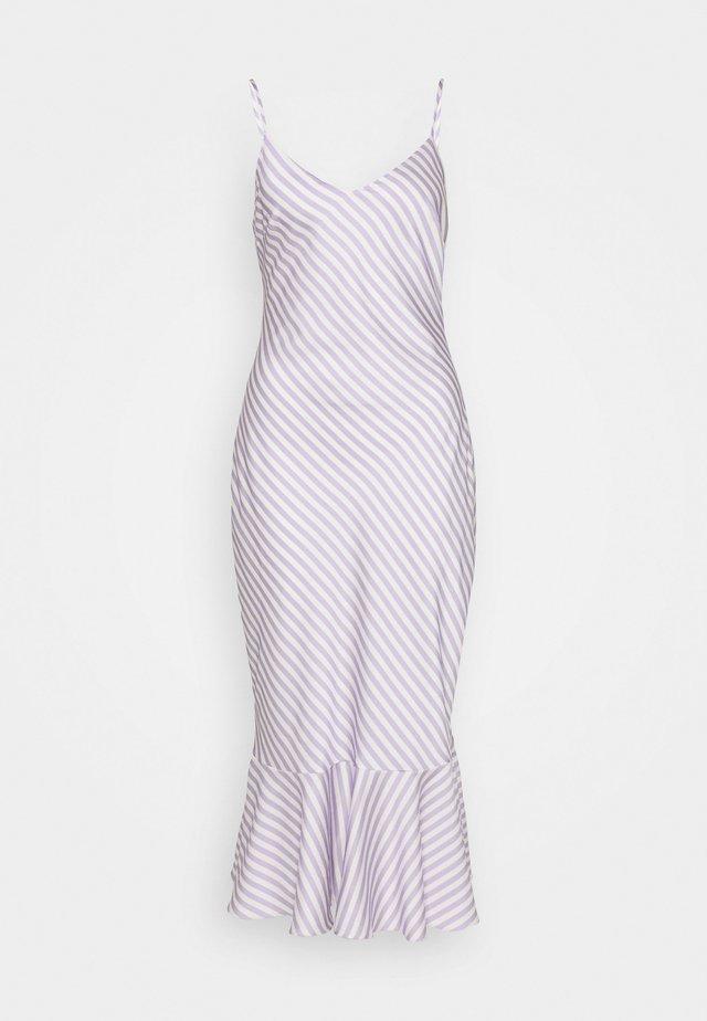 VIOLET MIDI DRESS - Korte jurk - lilac and vanilla