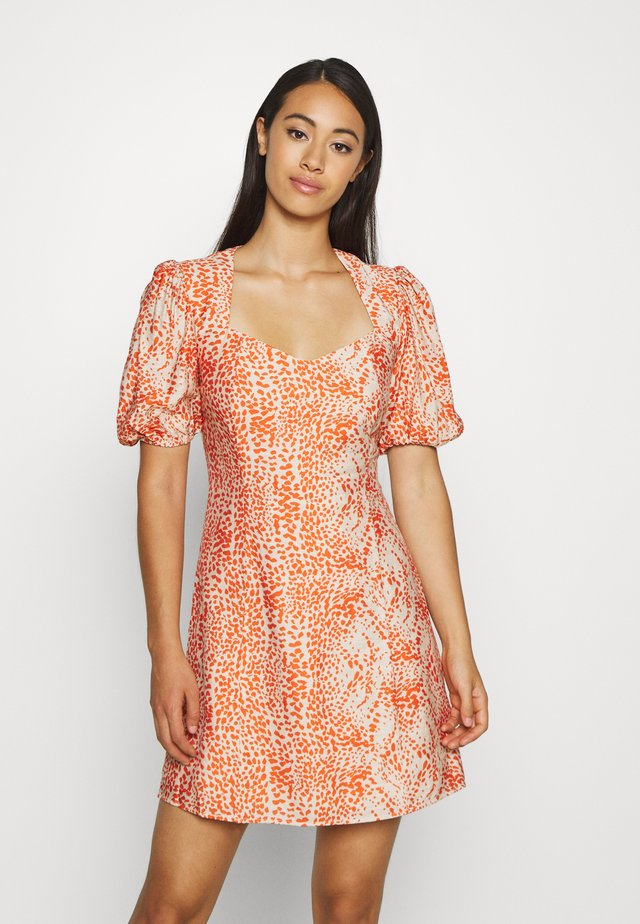 BIANCA MINI DRESS - Day dress - fiery
