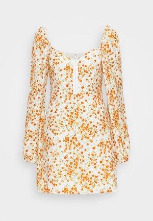HOLLIE MINI DRESS - Kjole - off-white