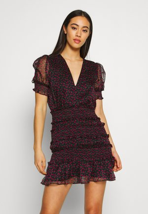 BEHATI MINI DRESS - Vestito estivo - black