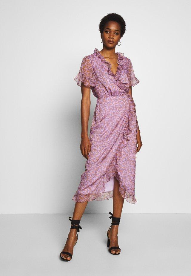 TALAN MIDI DRESS - Korte jurk - violet meadows