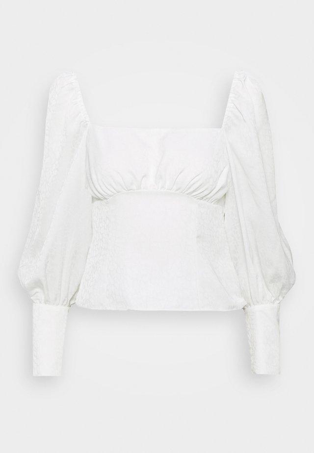 LENA - Blus - blanc