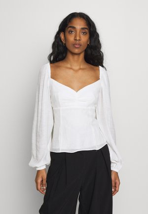 PEARL TOP - Blouse - white