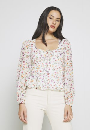 GINA TOP - Bluse - white