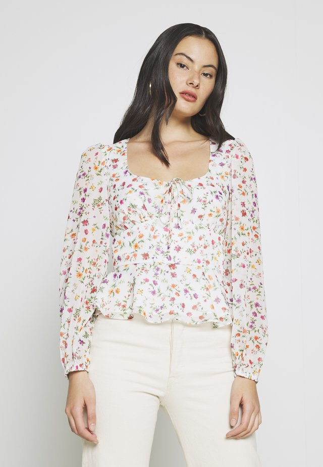 GINA TOP - Bluzka - white