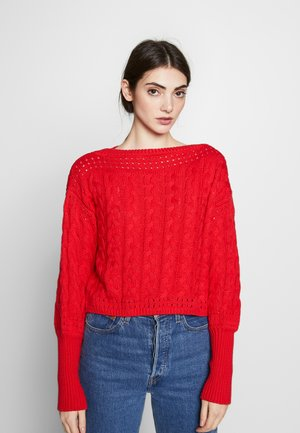 MILIE - Sweter - red