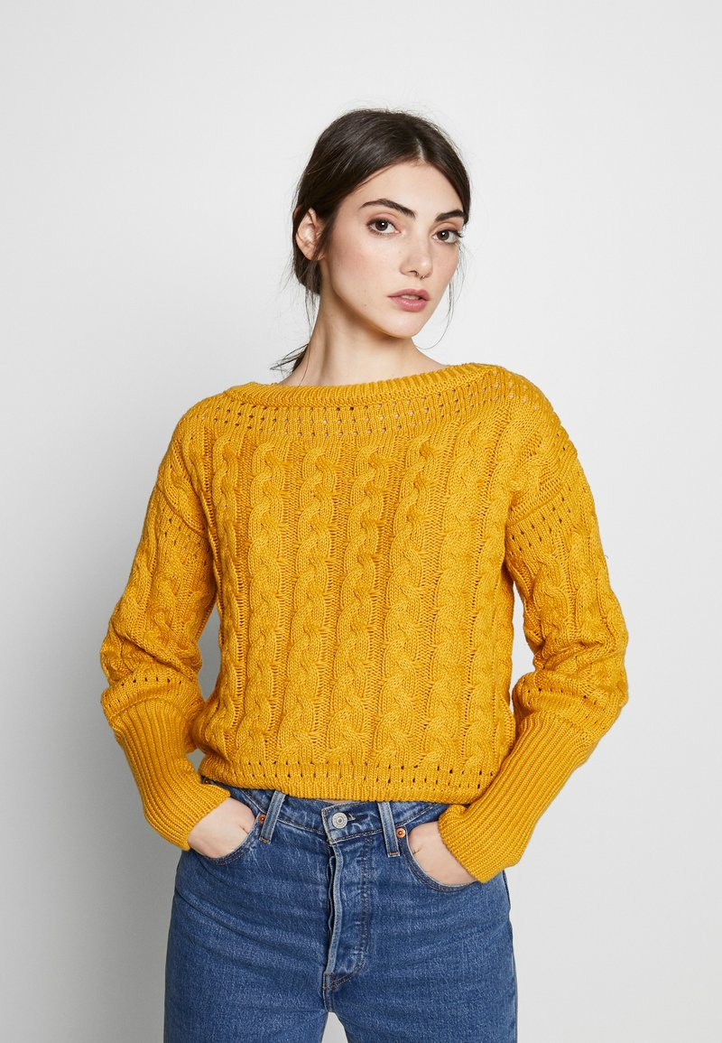 The East Order - MILIE - Stickad tröja - mustard