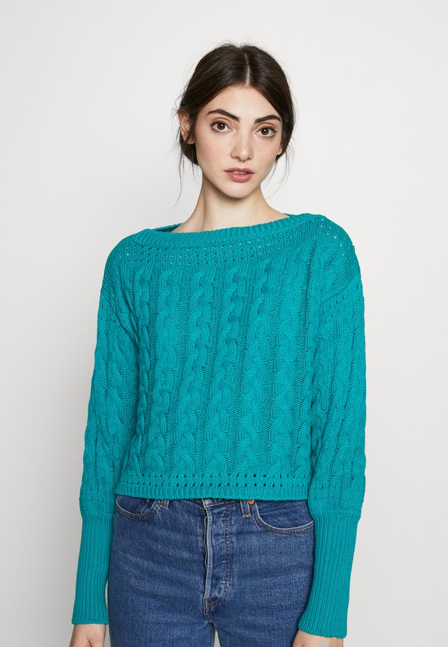 MILIE  - Jumper - teal