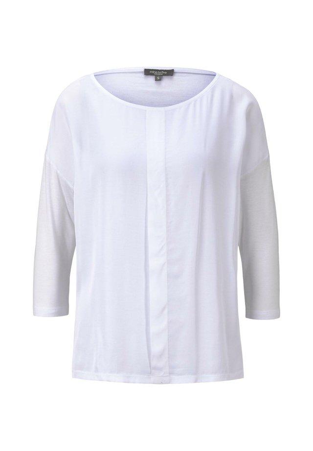 3/4 SLEEVE - Blouse - white