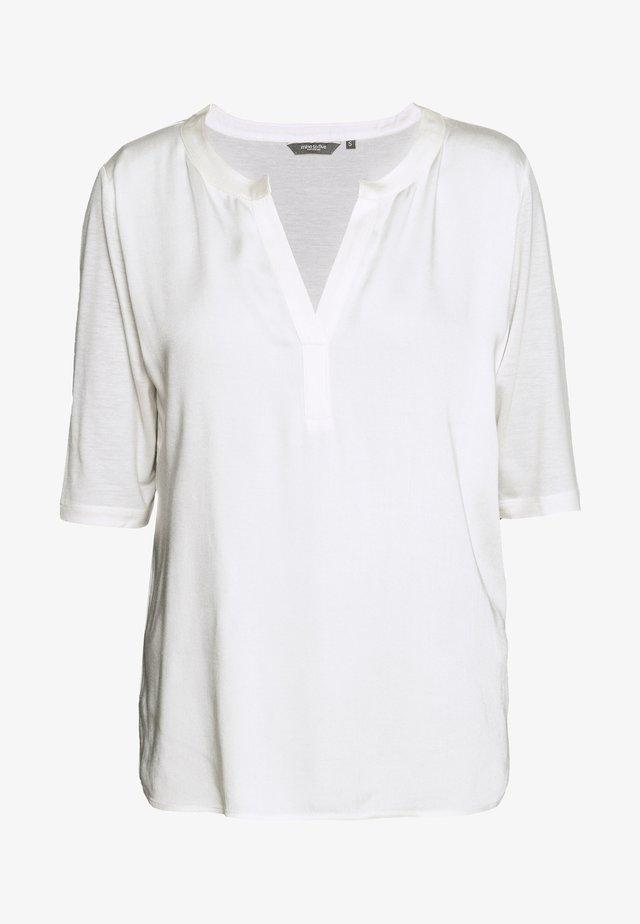 FABRIC MIX - T-shirts print - soft ecru