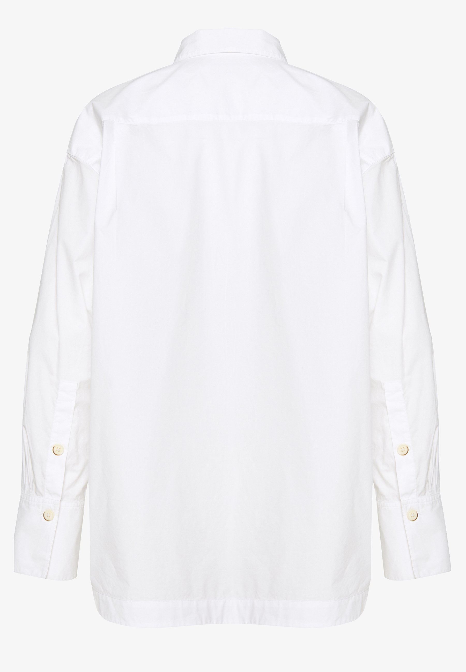 Mine To Five Tom Tailor Blouse With Slit Detail - Camicia White z1dWALw