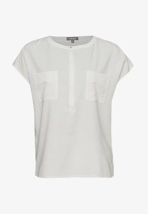 BASIC SHORTSLEEVE - Bluzka - whisper white
