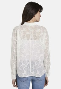mine to five TOM TAILOR - Button-down blouse - white - 2