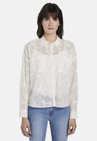mine to five TOM TAILOR - Button-down blouse - white - 0