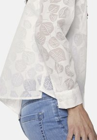 mine to five TOM TAILOR - Button-down blouse - white - 4