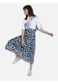 mine to five TOM TAILOR - BLUSEN & SHIRTS SCHLICHTES BLUSENSHIRT - Button-down blouse - white - 1