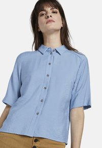 mine to five TOM TAILOR - BLUSEN & SHIRTS SCHLICHTES BLUSENSHIRT - Button-down blouse - soft charming blue - 3