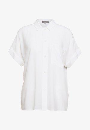 BLOUSE LOOSE FIT - Button-down blouse - soft ecru