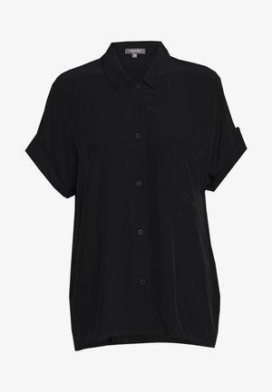 BLOUSE LOOSE FIT - Overhemdblouse - deep black