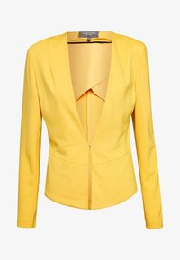 mine to five TOM TAILOR - COLLARLESS - Blazer - golden corn