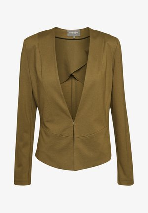 COLLARLESS - Blazer - military olive green