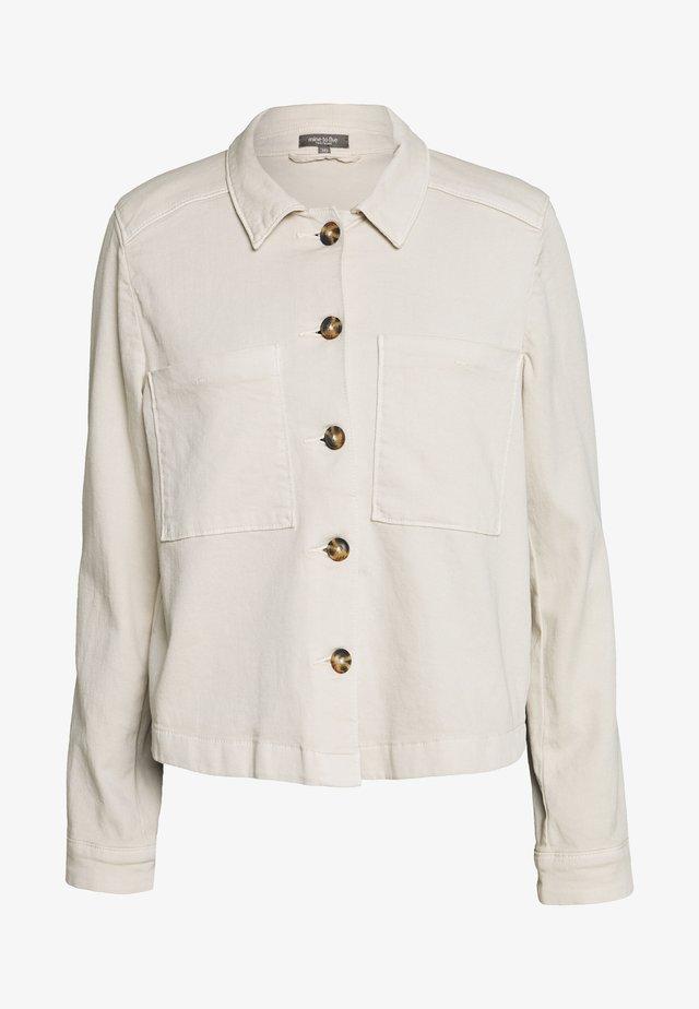 TWILL SPORTY - Denim jacket - soft ecru