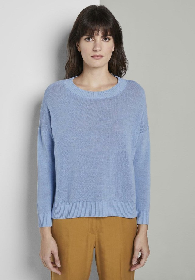 Jumper - light blue