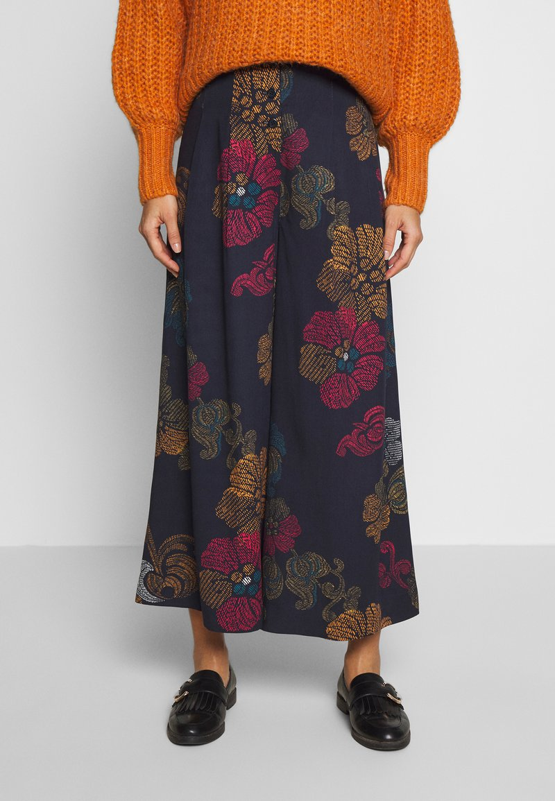 Thought - MARRINA CULOTTES - Broek - dark navy