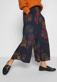 Thought - MARRINA CULOTTES - Broek - dark navy - 3