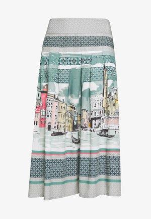 CANALETTO SKIRT - A-line skirt - lagoon blue