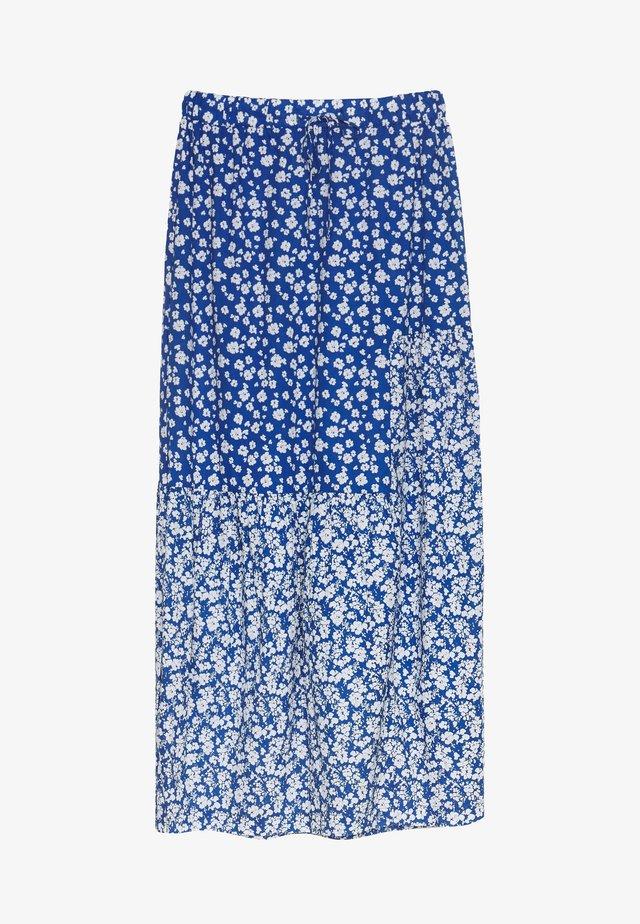 VERRONICA SKIRT - Długa spódnica - ultra marine blue