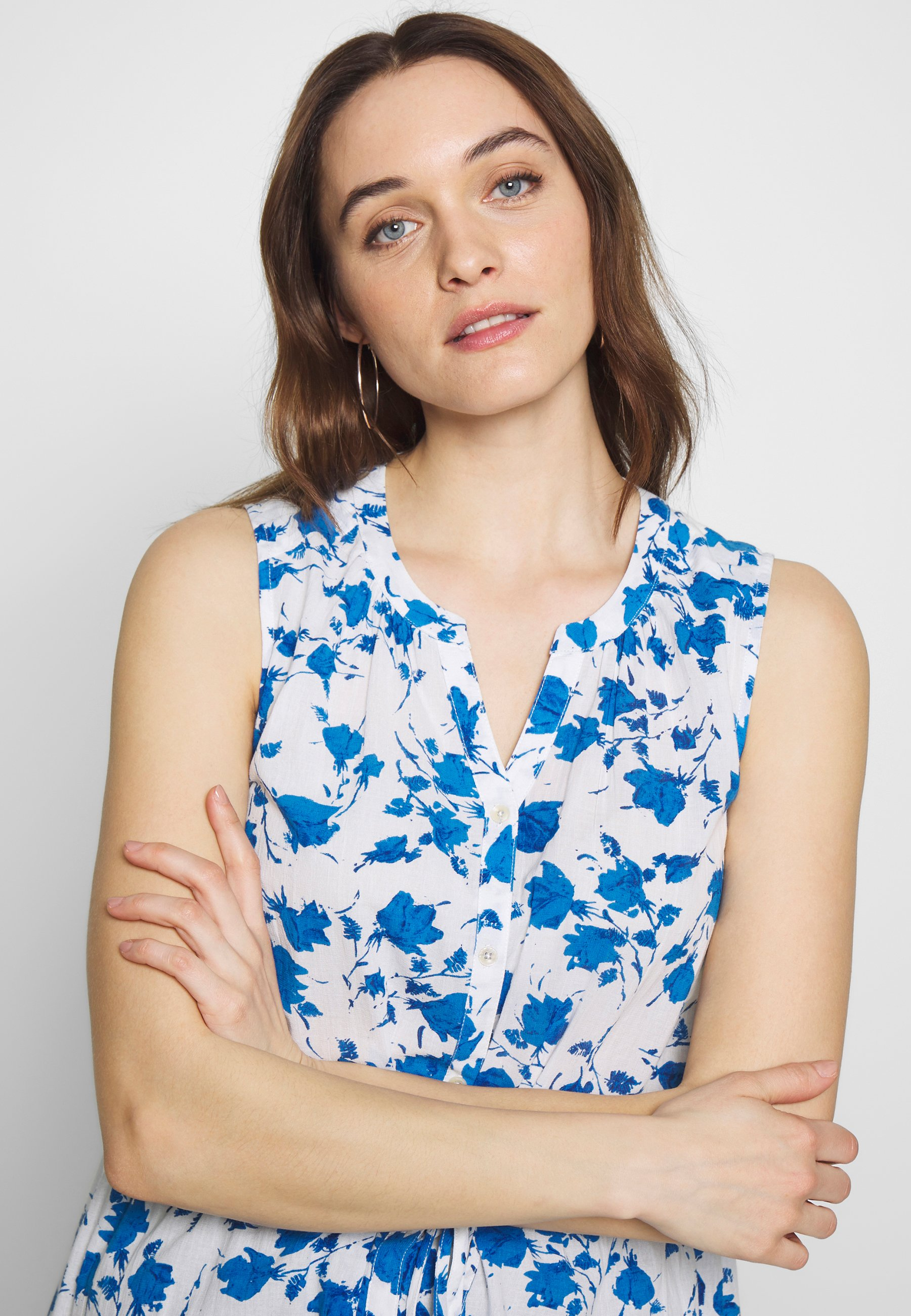 Thought Angellica Blouse - Blus White