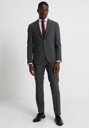 SLIM FIT SUIT - Suit - grey