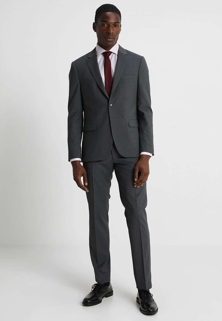 Tommy Hilfiger Tailored - SLIM FIT SUIT - Kostym - grey