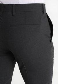 Tommy Hilfiger Tailored - Oblekové kalhoty - anthracite - 5