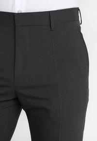 Tommy Hilfiger Tailored - Oblekové kalhoty - anthracite - 3